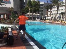 Sport animator op de Canarische eilanden